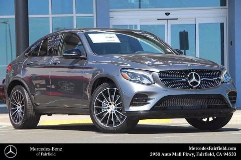 New 2018 Mercedes-Benz GLC 43 AMG® Coupe