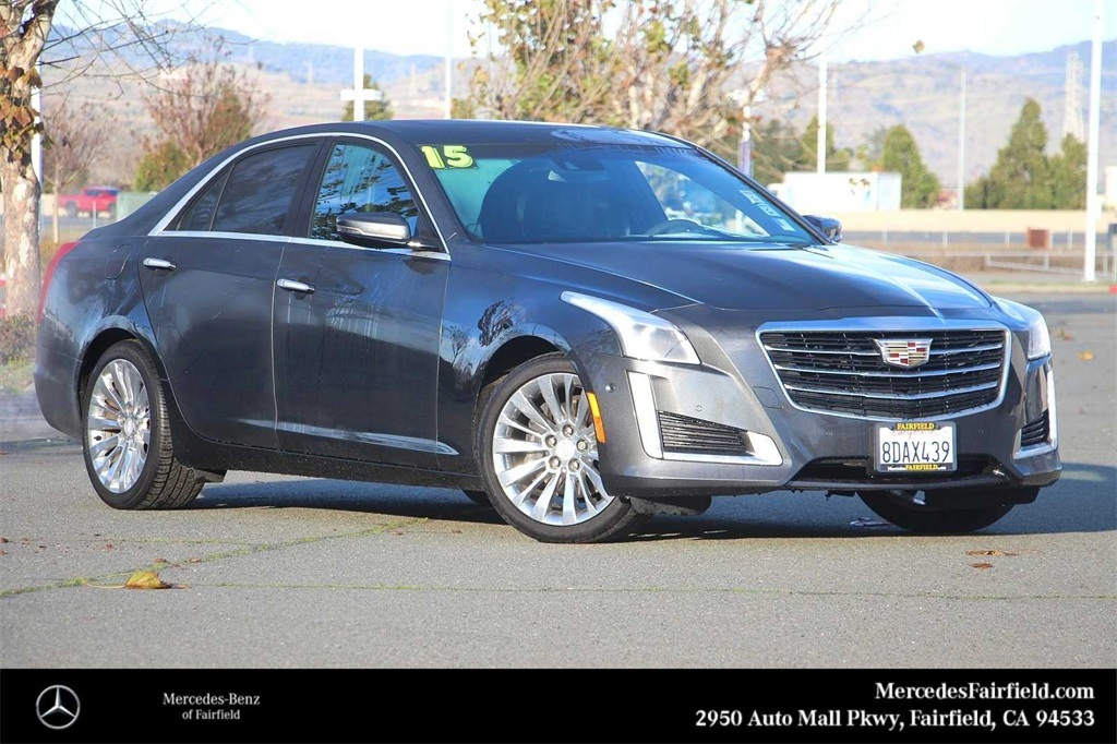 Pre-Owned 2015 Cadillac CTS 3.6L Premium