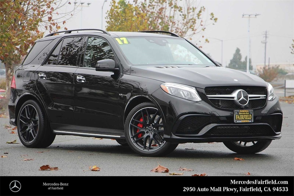 Certified Pre-Owned 2017 Mercedes-Benz GLE 63 S AMG®