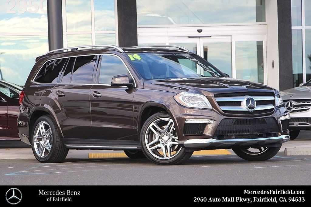 Certified Pre Owned 2014 Mercedes Benz GL Class GL 550