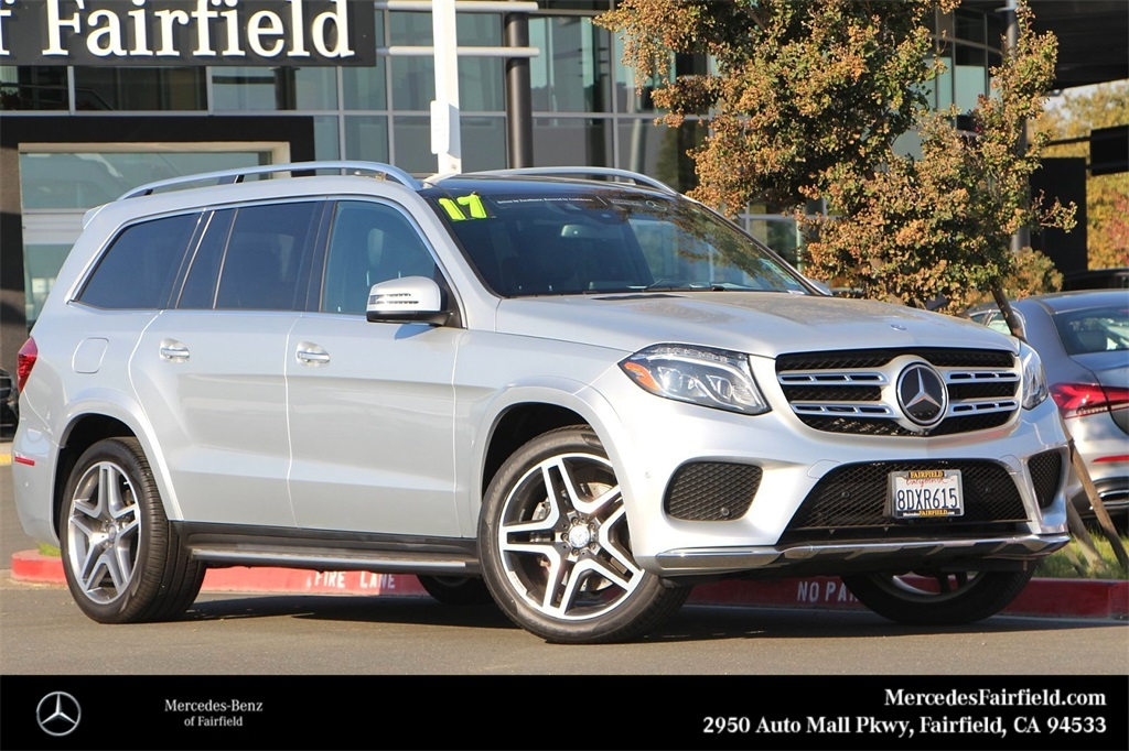 Certified Pre-Owned 2017 Mercedes-Benz GLS 550