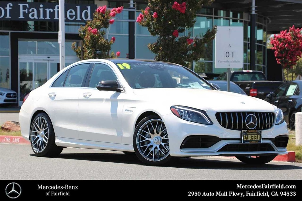 Certified Pre-Owned 2019 Mercedes-Benz C-Class C 63 AMG®
