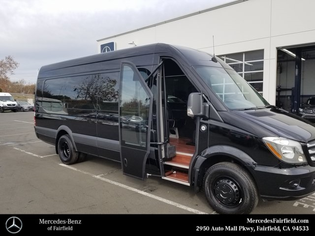 Mercedes Benz Van >> New 2017 Mercedes-Benz Sprinter Cargo 170 WB CARGO VAN in Fairfield #70683 | Mercedes-Benz of ...