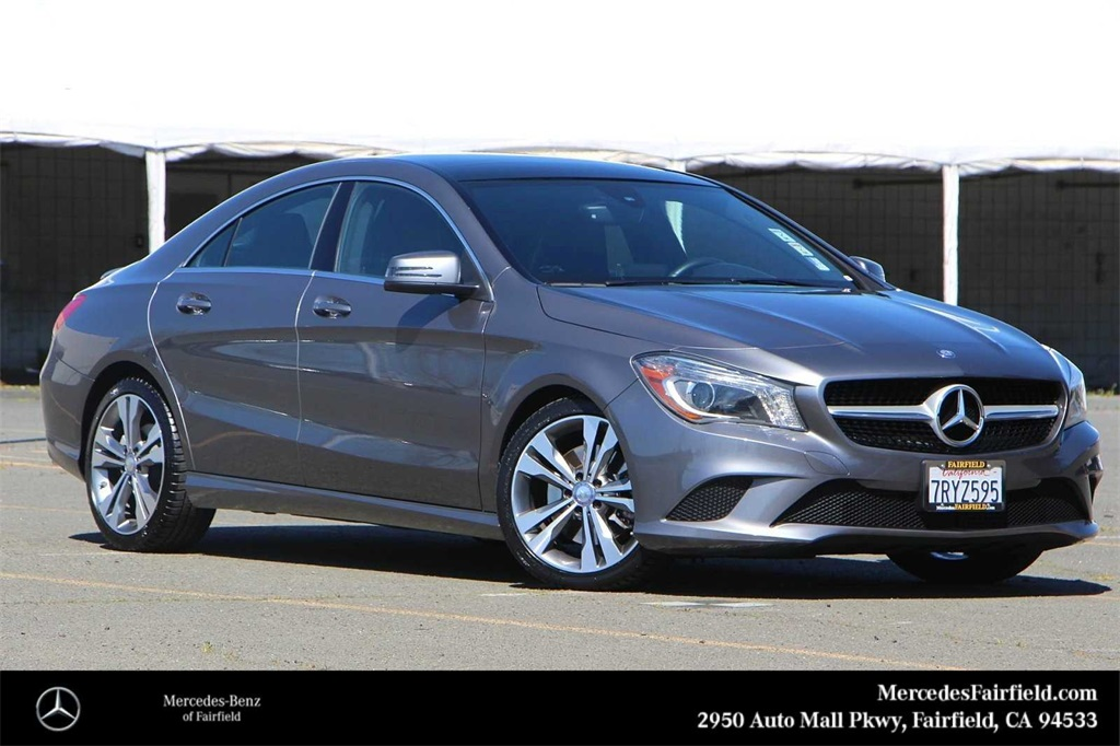 Used Mercedes Benz Cla Class Fairfield Ca