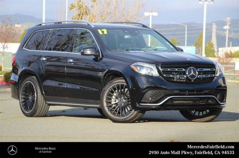 Certified Pre-Owned 2017 Mercedes-Benz GLS 63 AMG®