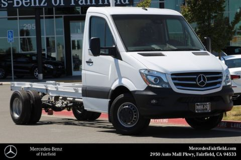 New 2017 Mercedes-Benz Sprinter Cab Chassis 144 WB