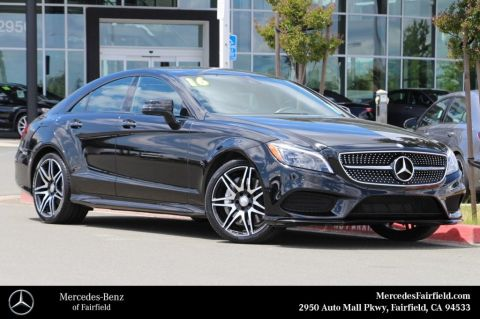 Certified Pre-Owned 2016 Mercedes-Benz CLS 550